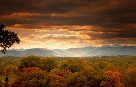 asheville mountain range