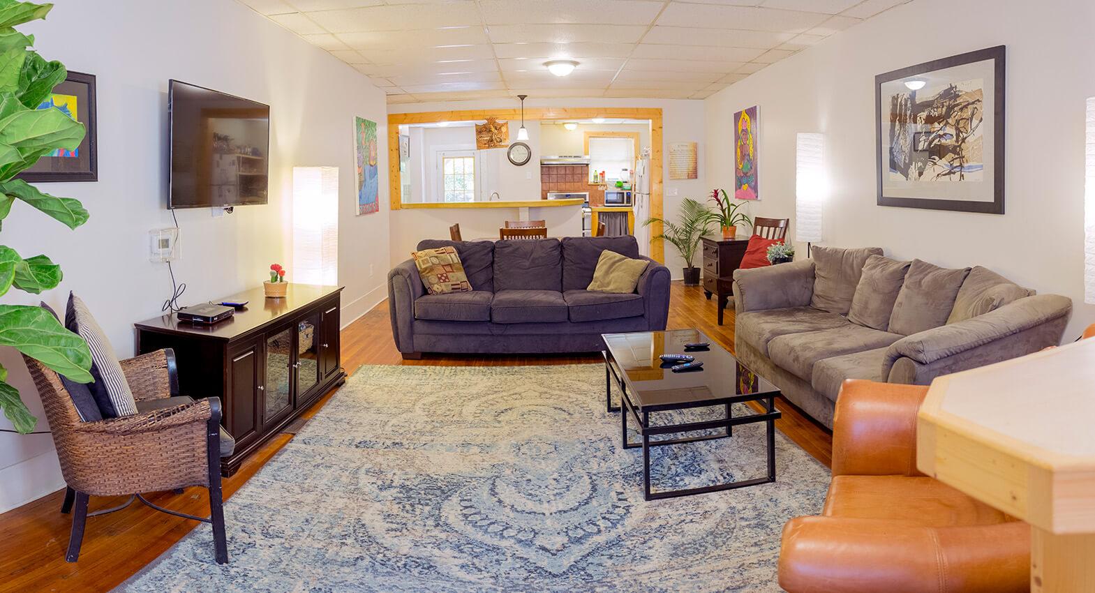 grail house living room