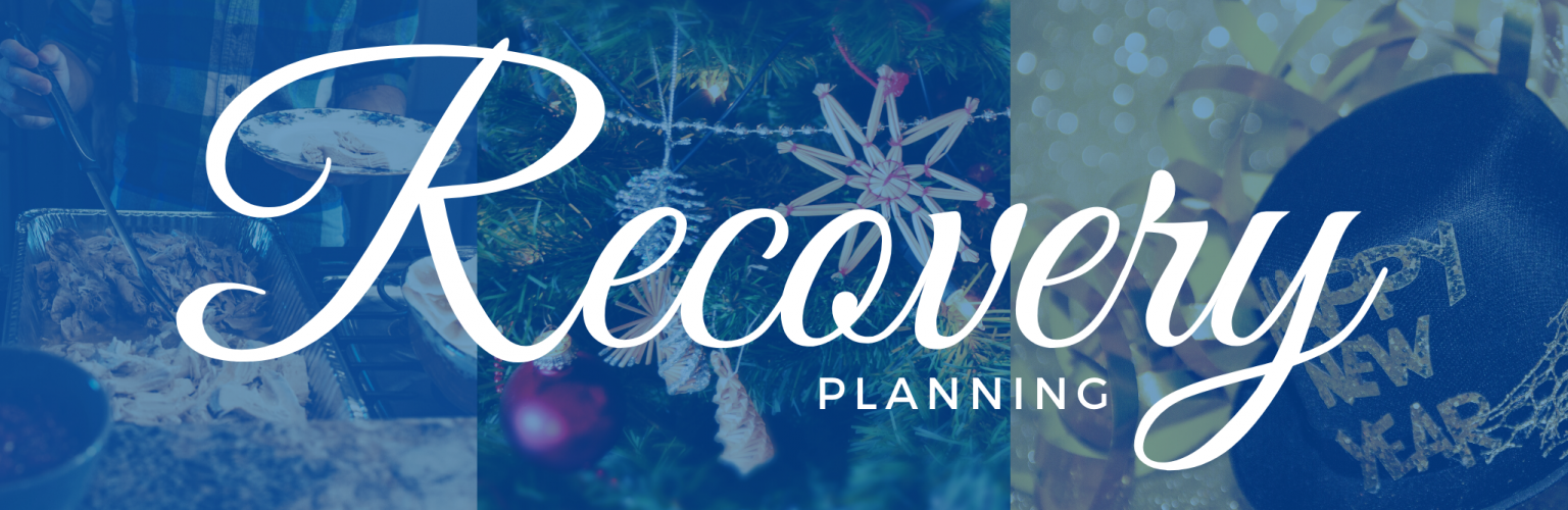 Recovery Planning 2020 Holidays